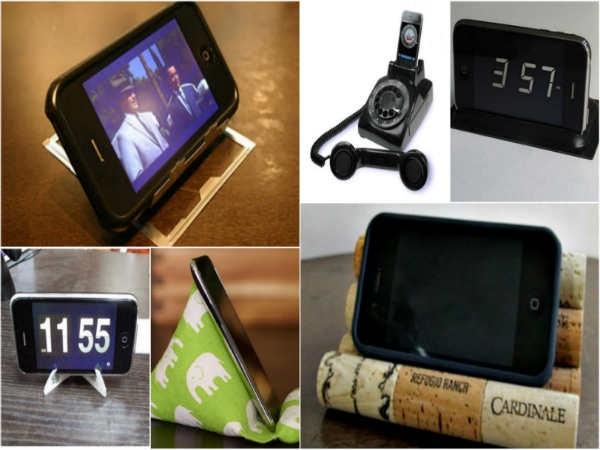 घर पर बनाएं ये 10 आईफोन स्टैंड