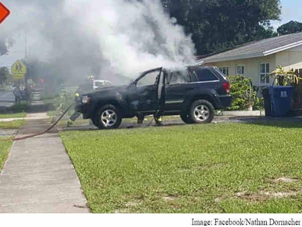 सैमसंग फोन फटने से गाड़ी और घर दोनों जले!