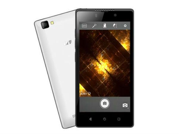भारत में लॉन्च हुआ लाइफ एफ 8 बजट स्मार्टफोन, 4जी LTE सपोर्ट