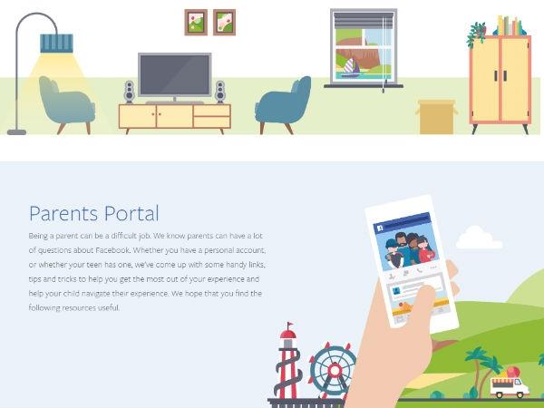 बच्चों की सुरक्षा के लिए फेसबुक ने लांच किया पैरेंट पोर्टल