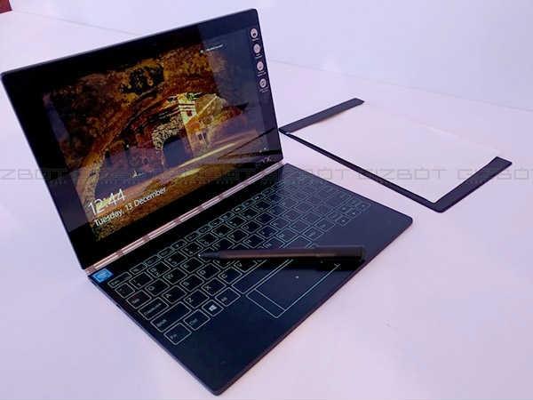 लेनोवो योगा बुक, लैपटॉप और टैबलेट दोनों का मज़़ा मिलेगा इसमें