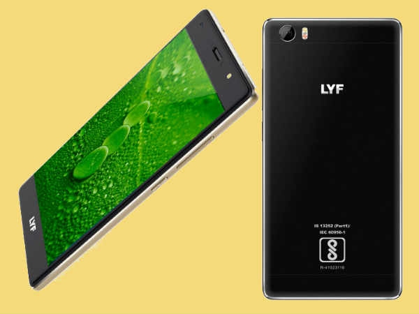 लाइफ एफ1एस स्मार्टफोन लॉन्च, कीमत 10,099 रुपए
