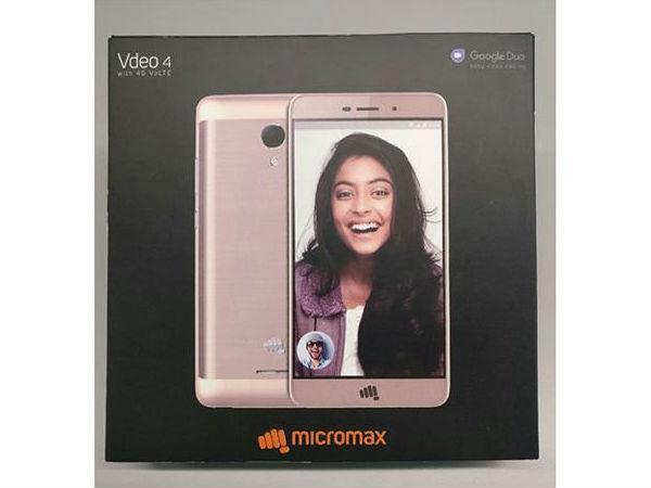 माइक्रोमैक्स स्मार्टफोन विडियो 3 और विडियो 4, मिलेगा जियो सिम का शानदार ऑफर
