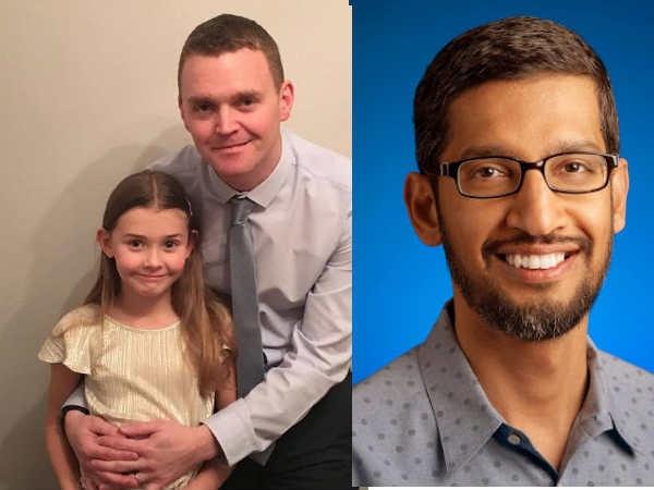 7 साल की बच्ची ने किया गूगल में जॉब को अप्लाई, सीईओ सुंदर पिचई से आया जवाब