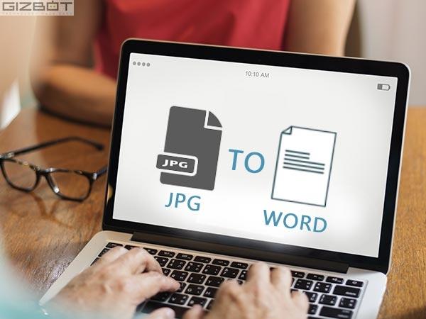 जेपीजी फाइल को वर्ड फाइल में कन्वर्ट करने का सबसे आसान तरीका