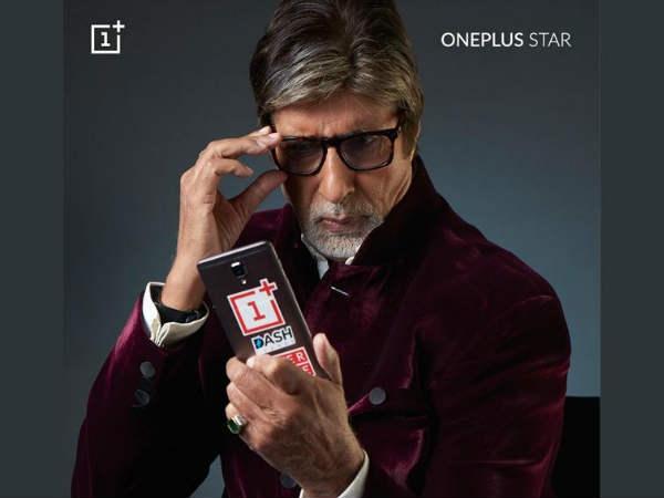वनप्लस के 'ब्रांड एम्बेसडर' बनें 'अमिताभ बच्चन'