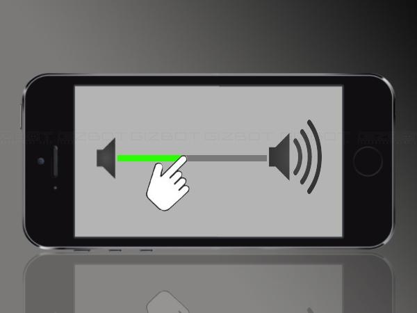 एक स्लाइड के कैसे कंट्रोल करें फोन का वॉल्यूम