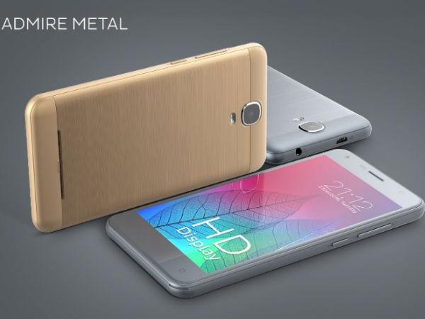 ज़ेन एडमायर मेटल 4जी VoLTE फोन लॉन्च, कीमत 5,749 रुपए
