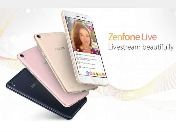 भारत में लॉन्च हुआ आसुस जेनफोन लाइव, कीमत 9,999 रुपए