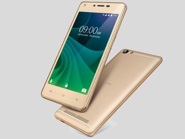 लावा ए77 स्मार्टफोन लॉन्च, कीमत 6,099 रुपए