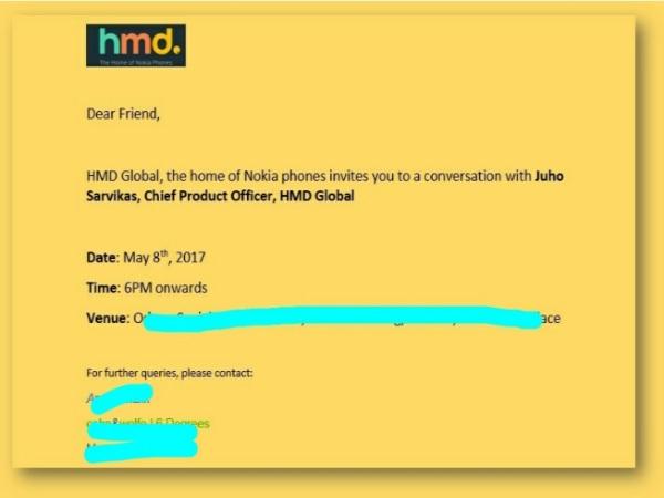 8 मई को भारत में लॉन्च होंगे नोकिया फोन, एचएमडी ने भेजा मीडिया को इनवाईट