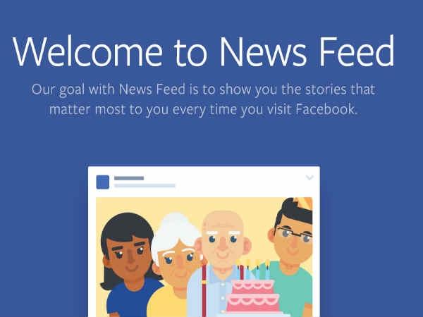 अपने फेसबुक फीड को ऐसे करें कंट्रोल