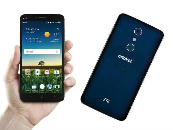 ज़ेडटीई ब्लेड एक्स मैक्स स्मार्टफोन में है 6 इंच डिस्प्ले और एंड्रायड नॉगट