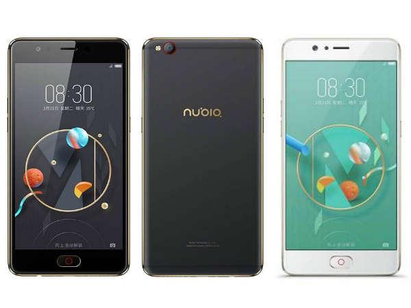 नूबिया एम2 लाइट स्मार्टफोन लॉन्च, फोन में है 4जीबी रैम