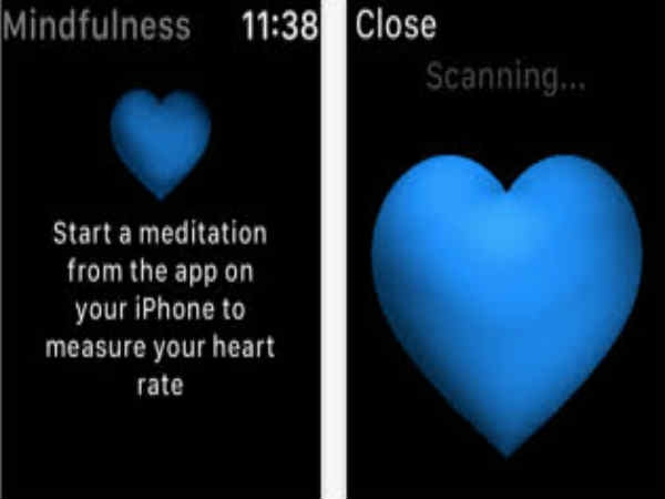 the Mindfulness App-