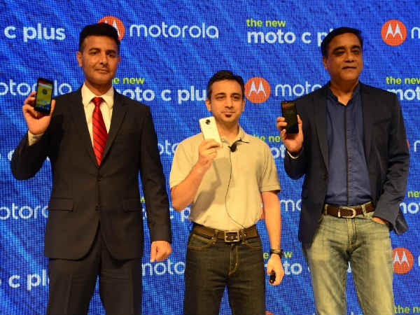 Moto C plus लॉन्च, 4000mAh बैटरी और कीमत 6,999 रु