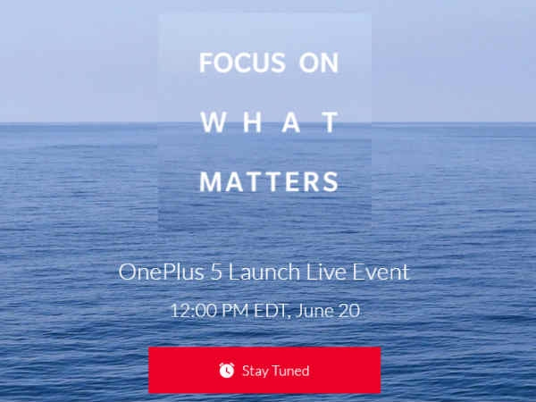 22 जून को भारत में लॉन्च होगा वनप्लस 5, लाइव होगा इवेंट