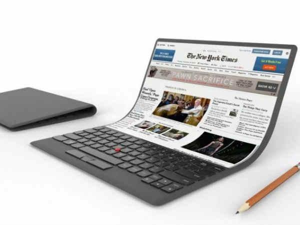 कोई फाइल नहीं, Lenovo का फोल्डेबल लैपटॉप है ये