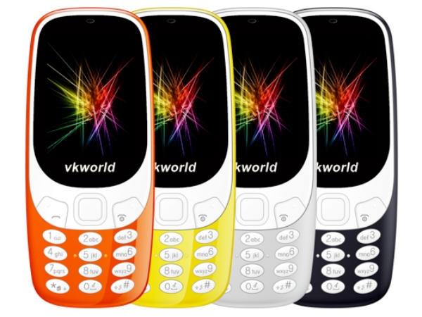 Nokia 3310 से बेहतर है क्लोन VKworld Z3310