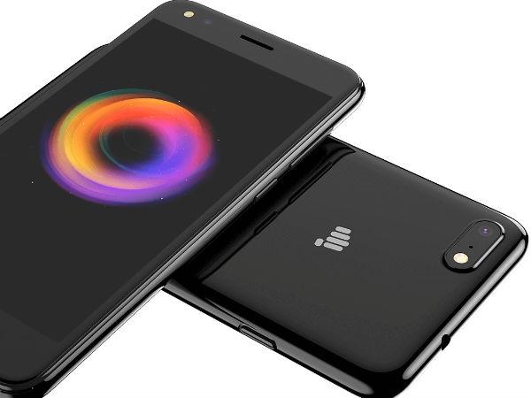 6,999 रु में माइक्रोमैक्स कैनवास 1 लॉन्च, डिज़ाइन आईफोन 7 जैसा