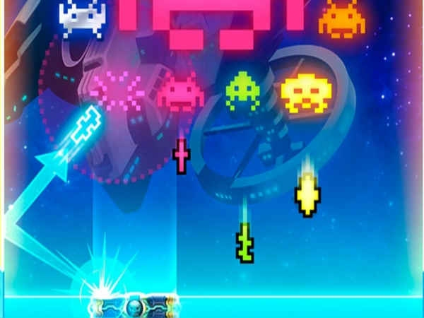 Arkanoid vs Space Invaders-