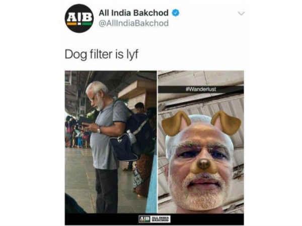 सोशल मीडिया पर नरेंद्र मोदी का मजाक बनाने पर ये होता है !