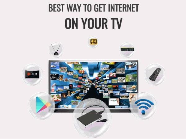 हर टीवी पर होगा इंटरनेट, ये है तरीका