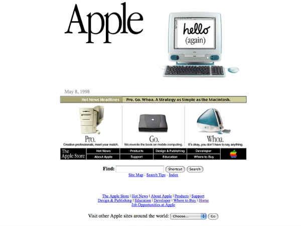गूगल समेत ये टॉप 10 वेबसाइट लॉन्च के वक्त दिखती थीं ऐसी !