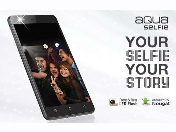 Intex ने लॉन्च किया Aqua Selfie, एक खास सेल्फी कैमरा