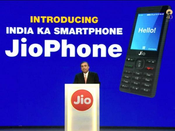 सिंगल सिम के साथ आएगा जियोफोन, केवल jio 4G सिम का होगा इस्तेमाल