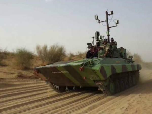 भारत ने भी बना लिया रिमोट कंट्रोल से चलने वाला टैंक