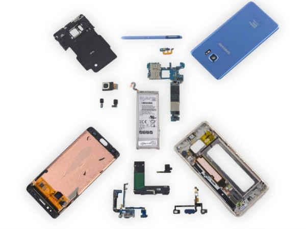 Samsung Galaxy Note 7 FE के टियरडाउन में सामने आया सच !