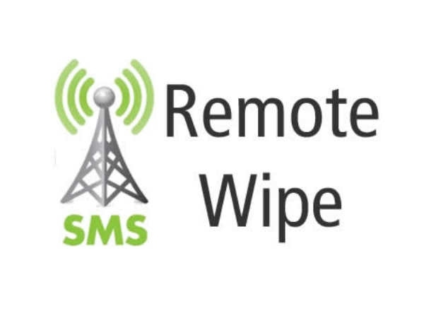 Remotely wipe data