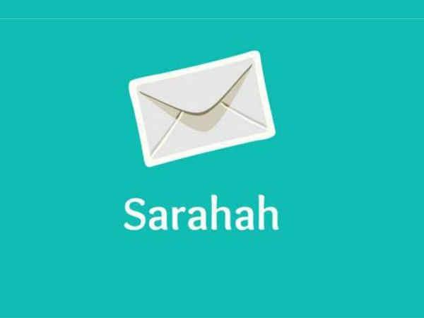 Sarahah ऐप पर मैसेज भेजने वाले का नाम जानना चाहते हैं आप ?