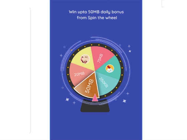 Spin &Win फीचर-