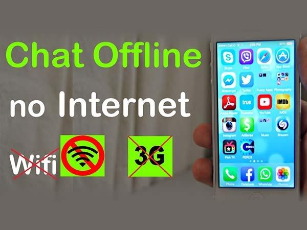 बिना इंटरनेट और व्हाट्सऐप के फ्री में करें चैटिंग