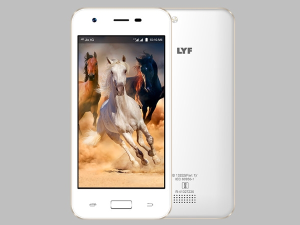 रिलायंस ने लॉन्च किया नया LYF C451 4G स्मार्टफोन