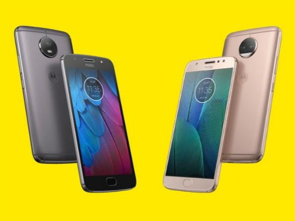 Motorola मोटो G5S और G5S plus लॉन्च