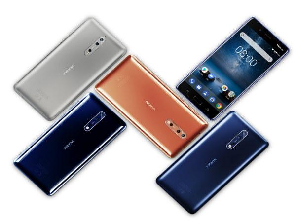 फ्लैगशिप स्मार्टफोन नोकिया 8 हुआ लॉन्च, कीमत, फीचर और स्पेक्स