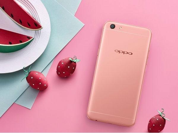 Oppo F3 रोज़ गोल्ड वैरिएंट लॉन्च, बेहद आकर्षक है फोन