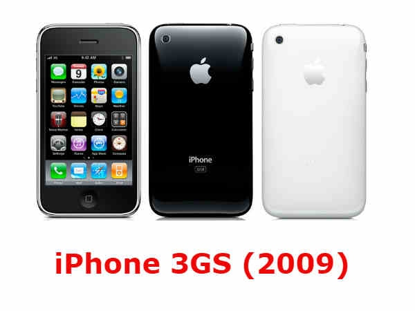 iPhone 3GS (2009)-