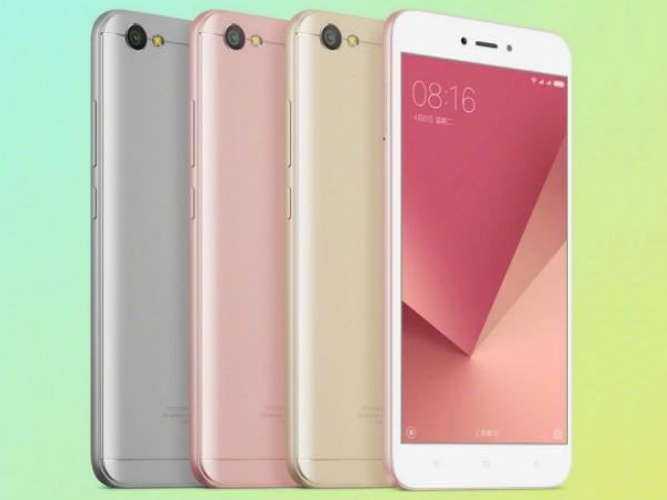 Xiaomi रेड्मी नोट 5A अब बिग रैम और बेहतर प्रोसेसर के साथ भी