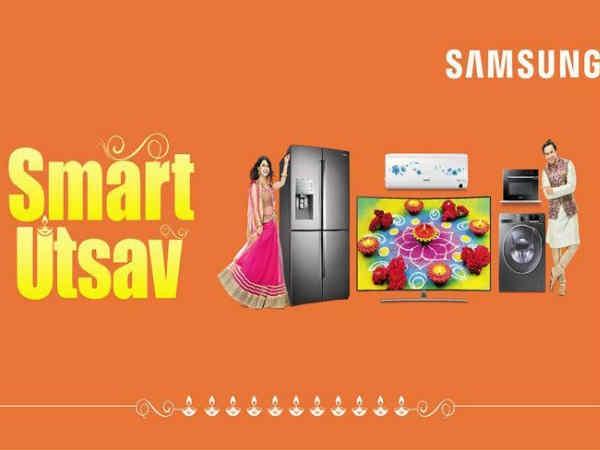 सैमसंग लाया Smart Utsav ऑफर, गैलेक्सी स्मार्टफोन जीतने का मौका