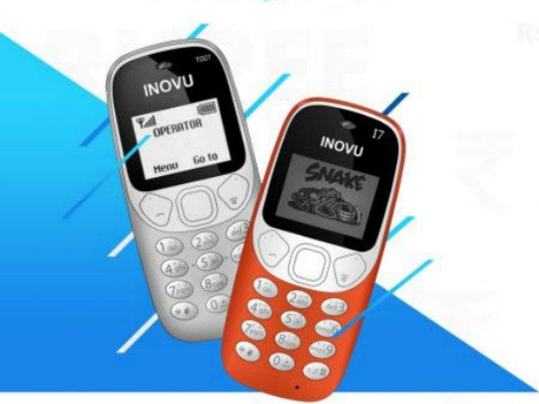 Inovu I7 है नया Nokia 3310 क्लोन, कीमत केवल 349 रुपए