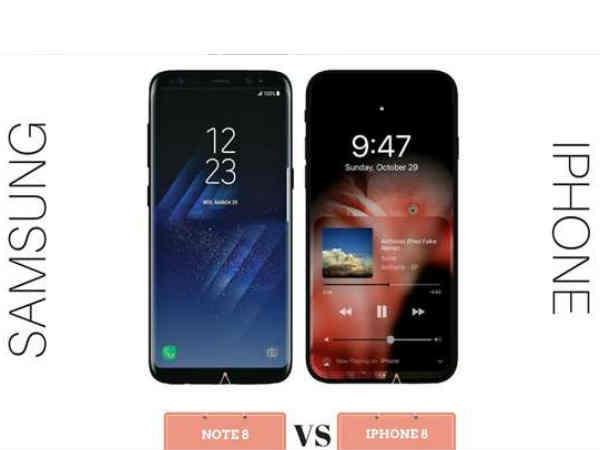 iPhone 8 और सैमसंग गैलेक्सी Note 8 आज होंगे लॉन्च, यहां देखें लाइव