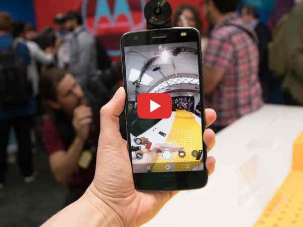 Video: 100 से ज्यादा बार गिरा  Moto Z2 Force, कैसा हुआ हाल ?