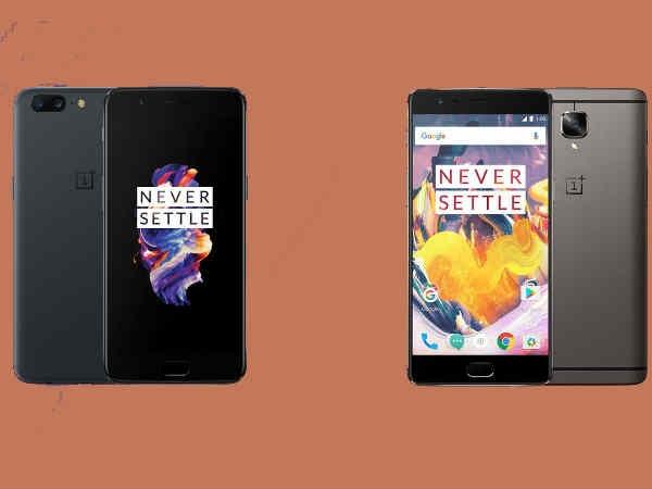 सस्ते हुए OnePlus 5 और OnePlus 3T स्मार्टफोन, जानें नया प्राइस