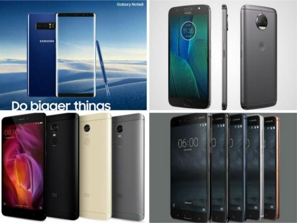 Top 10 : पिछले हफ्ते लॉन्च हुए ये 10 पावरफुल smartphone