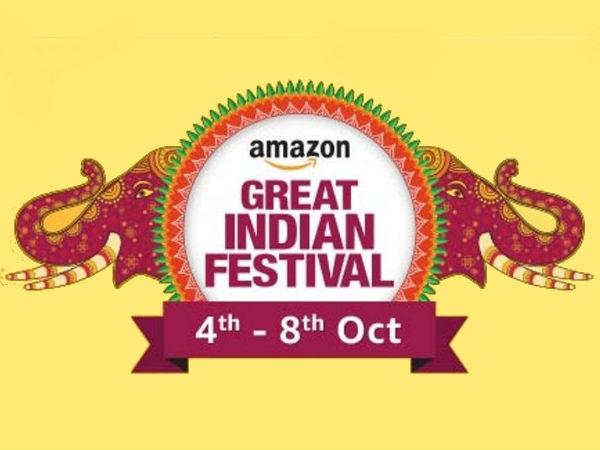 फिर शुरू हुई Amazon great India sale, 4 से 8 अक्टूबर तक स्मार्टफोन पर बंपर डिस्काउंट