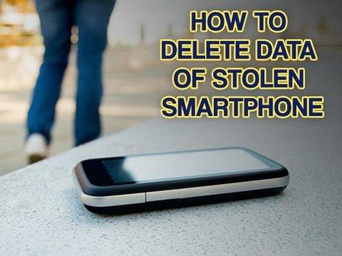 मोबाइल खो जाने पर ऐसे डिलीट करें फोन का पूरा डेटा